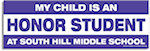 2.75 x 8.25 inch Car Sign Rectangle Magnets